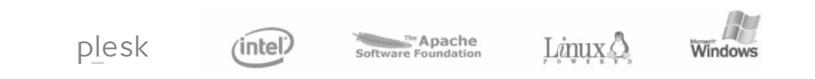 Logotipos de empresas relacionadas con el producto VPS de acens