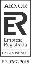 Certificado Aenor 9001